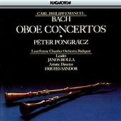 Play & Download Bach, C.P.E: Oboe Concertos by Peter Pongracz | Napster