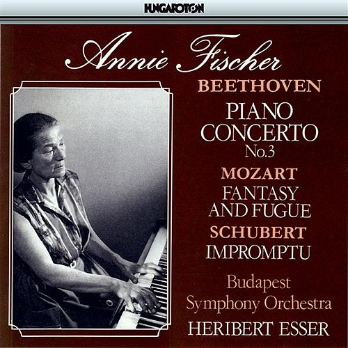 Play & Download Beethoven: Piano Concerto No. 3 / Mozart: Prelude and Fugue, K 394 / Schubert: Impomptu No. 5 by Annie Fischer | Napster