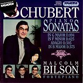 Schubert: Piano Sonatas Nos. 9, 12 and 18 by Malcolm Bilson