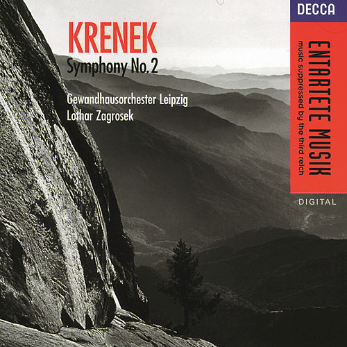 Play & Download Krenek: Symphony No. 2, Op. 12 by Gewandhausorchester Leipzig | Napster