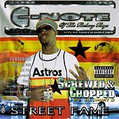 Play & Download Street Fame Screwed & Chopped by Various Artists | Napster