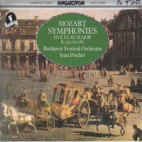 Mozart: Symphonies Nos. 19, 26 and 39 by Budapest Festival Orchestra