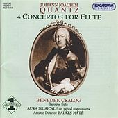 Play & Download Quantz: 4 Flute Concertos by Benedek Csalog | Napster