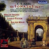 Play & Download Abel: 6 Keyboard Sonatas, Op. 2 by Miklos Spanyi | Napster