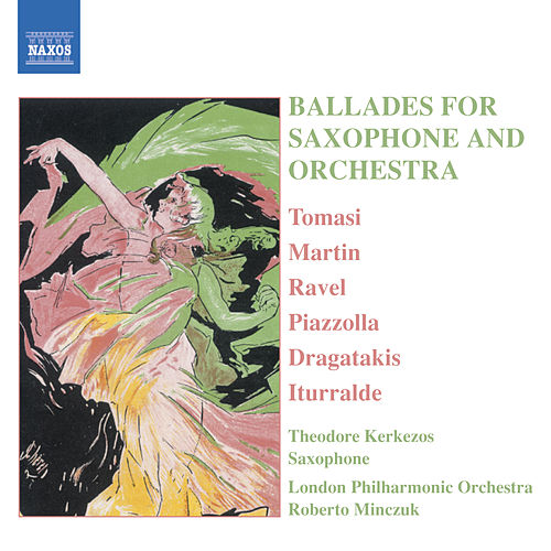 Ballades for Saxophone And Orchestra by Theodore Kerkezos