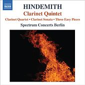 Play & Download Hindemith, P.: Quartet for Clarinet and Piano Trio / Clarinet Sonata / 3 Leichte Stucke / Clarinet Quintet by Spectrum Concerts Berlin | Napster