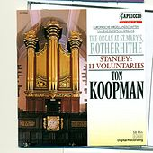 Stanley, J.: 11 Voluntaries by Ton Koopman