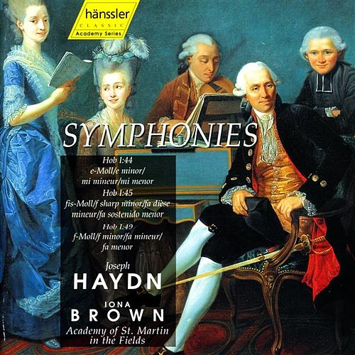 Play & Download Haydn: Symphonies Nos. 44, 45, 49 by Academy of St. Martin in the Fields Orchestra | Napster