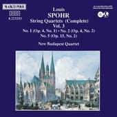 Spohr: String Quartets Vol. 3 by New Budapest Quartet