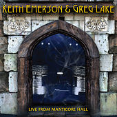 Live from Manticore Hall by Keith Emerson