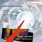 Play & Download Britten, Schnittke. Piano concertos by Mikhail Voskresensky | Napster