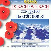 Play & Download Bach, J.S:Concertos for 2 Harpsichords / Bach, W.F.: Harpichord Concerto in F Major by Janos Sebestyen | Napster