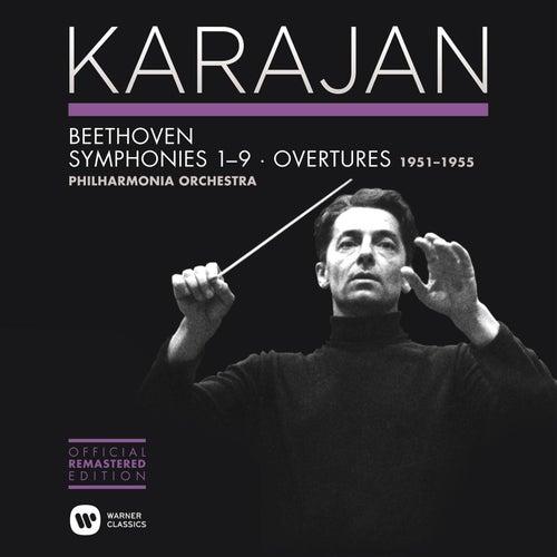 Beethoven: Symphonies Nos 1-9 & Overtures by Herbert Von Karajan
