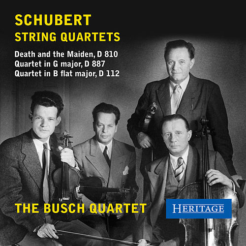 Play & Download Schubert: String Quartets by Busch Quartet | Napster