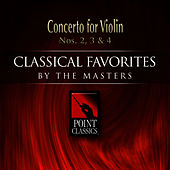 Concerto for Violin Nos. 2, 3 & 4 by Various Artists
