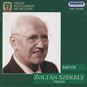Bartok: Violin Concerto No. 2 / Rhapsodies Nos. 1-2 (Szekeley) (1939) by Zoltan Szekely