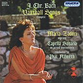 Bach, J.C.: Vauxhall Songs (Complete) by Maria Zadori