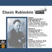 Play & Download Classic Rubinstein by Arthur Rubinstein | Napster