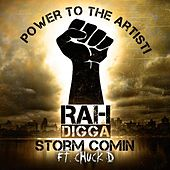 Play & Download Storm Comin (feat. Chuck D) by Rah Digga | Napster
