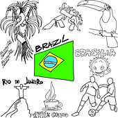 Play & Download 100% Brazil Coffee Lounge 2014 (Bonita Brasilia Chill Out Football Edition Mundial) by Various Artists | Napster