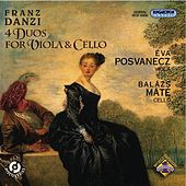Play & Download Danzi, F.: 4 Duos for Viola and Cello by Eva Posvanecz | Napster