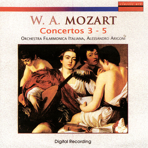 Play & Download Wolfgang Amadeus Mozart: Concertos 3 - 5 by Guido Rimonda | Napster