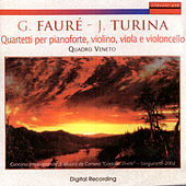 Play & Download Gabriel Fauré - Joaquin Turina: Quartetti Per Pianoforte, Violino, Viola E Violoncello by Michele Bolla | Napster
