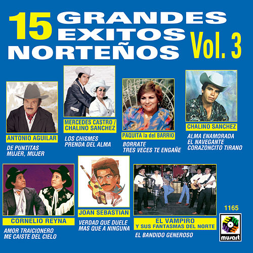 Play & Download 15 Grandes Exitos Norte by Various Artists | Napster