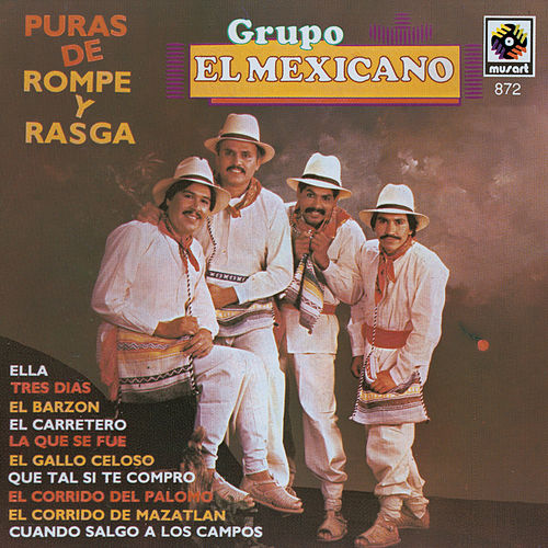 Play & Download Puras De Rompope Y Rasga by Mi Banda El Mexicano | Napster