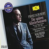 Schubert: The Late Piano Sonatas D 958, 959 & 960; 3 Piano Pieces D 946; Allegretto D 915 by Maurizio Pollini