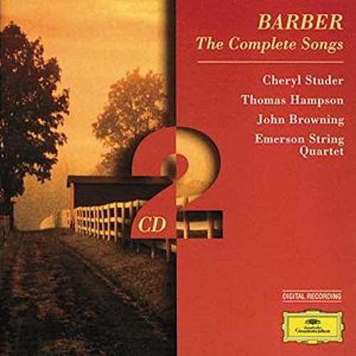 Barber: The Complete Songs by Various Artists