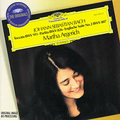 Bach, J.S.: Toccata BWV 911; Partita No.2; English Suite No.2 by Martha Argerich
