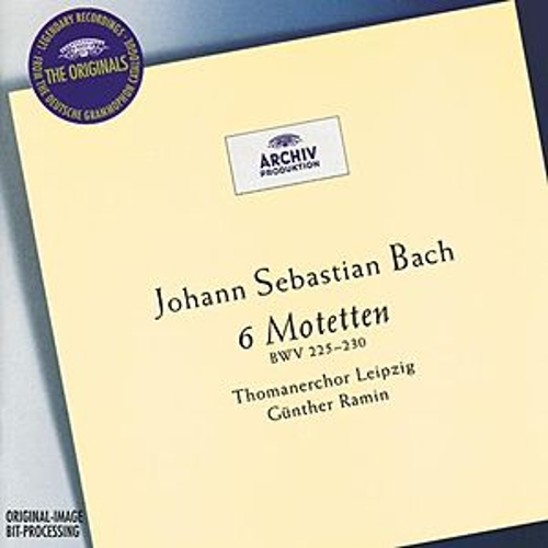 Play & Download Bach: 6 Motets BWV 225-230 by Günther Ramin | Napster