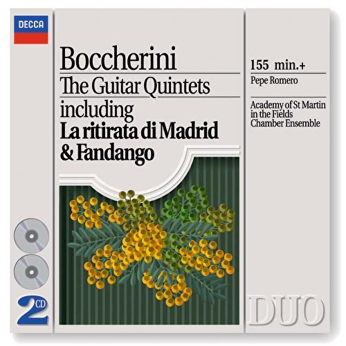 Boccherini: The Guitar Quintets by Various Artists