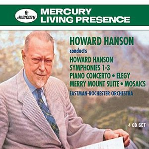 Howard Hanson conducts Howard Hanson by Various Artists
