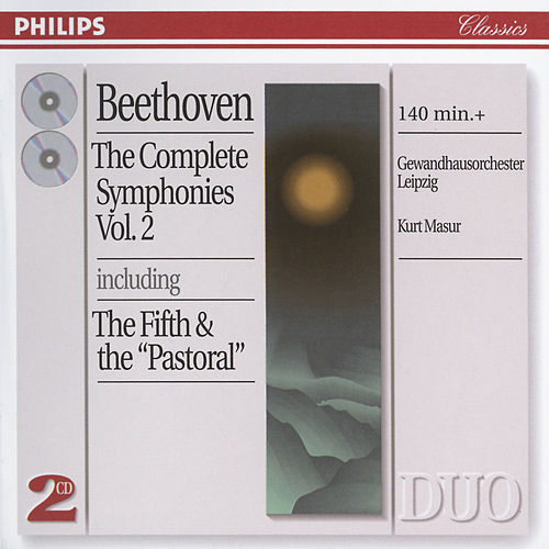 Play & Download Beethoven: The Complete Symphonies, Vol. 2 by Gewandhausorchester Leipzig | Napster