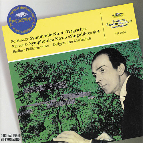 Play & Download Schubert: Symphony No.4 'Tragic' / Berwald: Symphonies Nos.3 'Singulière' & 4 by Berliner Philharmoniker | Napster
