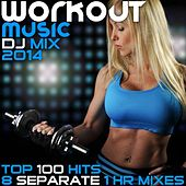 Play & Download Workout Music 100 Hits DJ Mix 2014 8 Separate 1hr Mixes - High BPM Exercise Electronic Dance Techno Trance Progressive Gym Jams by Various Artists | Napster