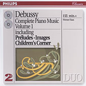 Debussy: Piano Works Vol.1 by Werner Haas
