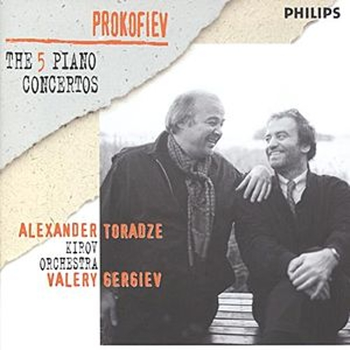 Prokofiev: The Five PIano Concertos by Alexander Toradze