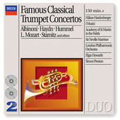 Play & Download Famous Classical Trumpet Concertos by Håkan Hardenberger | Napster