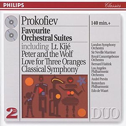 Play & Download Prokofiev: Favourite Orchestral Suites by Various Artists | Napster