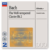 Bach, J.S.: The Well-tempered Clavier, Book 2 by Friedrich Gulda