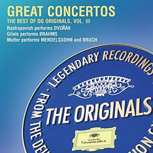 Play & Download Great Concertos: The Best of DG Originals, Vol. III by Various Artists | Napster