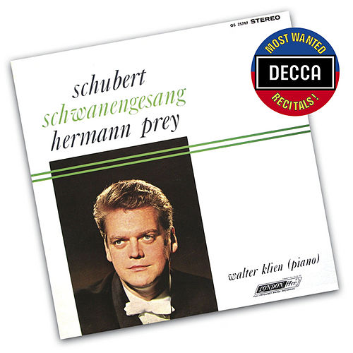 Play & Download Schubert: Schwanengesang by Hermann Prey | Napster