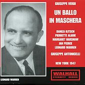 Play & Download Verdi: Un ballo in maschera (Live Recording 1947) by Various Artists | Napster