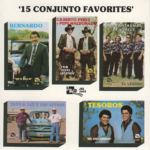 15 Conjunto Favorites by Various Artists