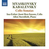 Myaskovsky & Kabalevsky: Cello Sonatas by Ina-Esther Joost Ben-Sasson