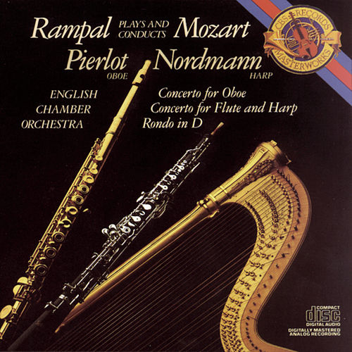 Play & Download Mozart:  Concerto for Flute, Harp and Orchestra in C Major, K. 299; Concerto in C Major for Oboe and Orchestra; Rondo in D Major for Flute and Orchesta by English Chamber Orchestra | Napster