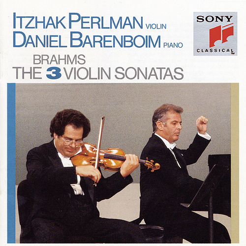 Brahms: The 3 Violin Sonatas by Daniel Barenboim